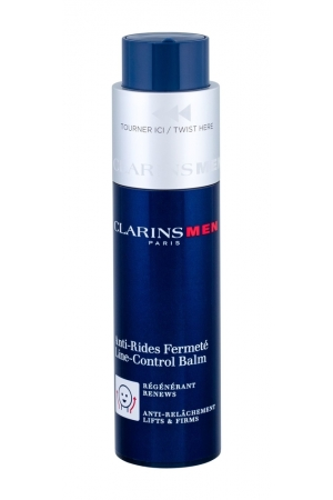 Clarins Men Line Control Day Cream 50ml (All Skin Types - For All Ages)