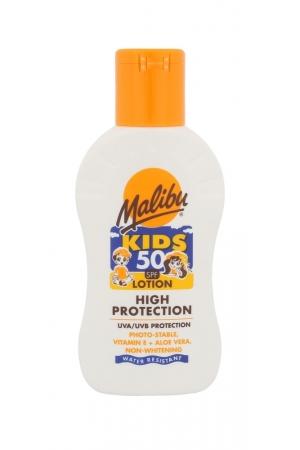 Malibu Kids Lotion Sun Body Lotion 100ml Waterproof Spf50