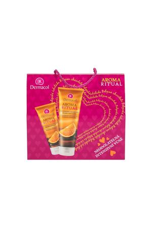 Dermacol Aroma Ritual Belgian Chocolate Shower Gel 250ml - Set
