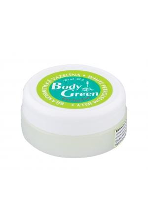 Body Green White Petroleum Jelly Body Gel 100ml