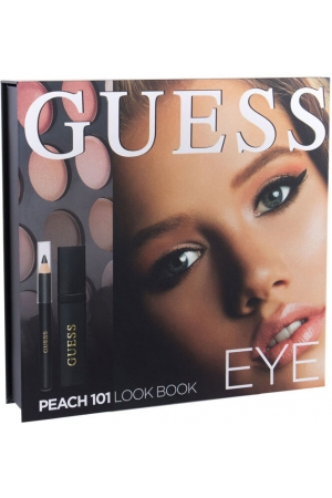Guess Look Book Eye Eye Shadow 101 Peach 13,92gr Combo: Eye Shadow 12 X 1,16 G + Mascara Black 4 Ml + Eye Pencil Black 0,5 G + Mirror