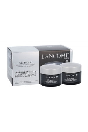 Lancome Genifique Youth Activating Cream Day Cream 30ml Combo: Daily Skin Care 2 X 15 Ml (All Skin Types - For All Ages)