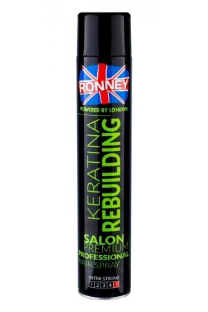 Ronney Salon Premium Professional Keratina Hair Spray 750ml (Extra Strong Fixation)