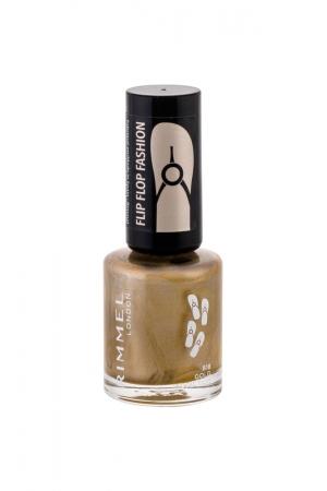 Rimmel London 60 Seconds Flip Flop Nail Polish 8ml 818 Gold Addiction