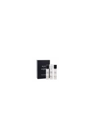 Chanel Bleu De Eau De Parfum 60ml Refill 3x 20 Ml