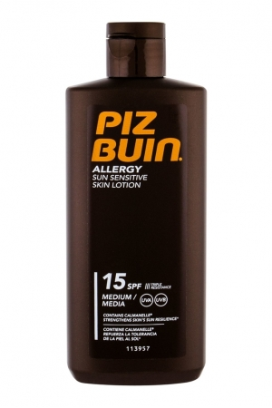 Piz Buin Allergy Sun Body Lotion 200ml Waterproof Spf15