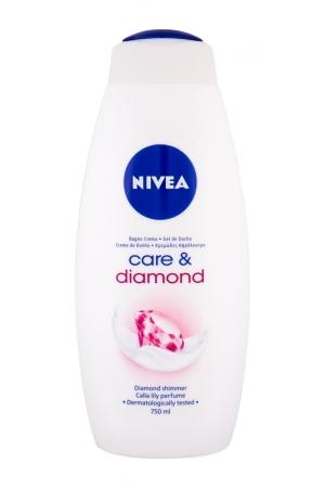 Nivea Care Diamond Shower Gel 750ml