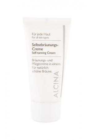 Alcina Self-tanning Cream - Samoopalovaci Krem Na Oblicej 50ml