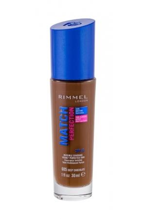 Rimmel London Match Perfection Makeup 30ml Spf15 605 Deep Chocolate (Stredni - Tekuta)