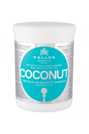 Kallos Cosmetics Coconut Hair Mask 1000ml (Weak Hair - Dry Hair - All Hair Types)