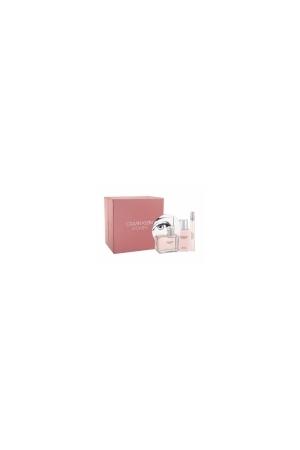 Calvin Klein Women Eau De Parfum 100ml Combo Edp 100 Ml + Edp 10 Ml + Body Lotion 100 Ml