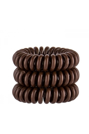 Invisibobble Power Hair Ring Hair Ring Pretzel Brown 3pc