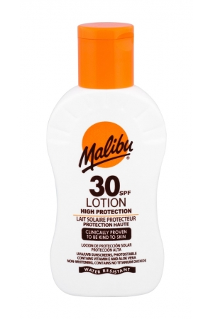 Malibu Lotion Sun Body Lotion 100ml Waterproof Spf30