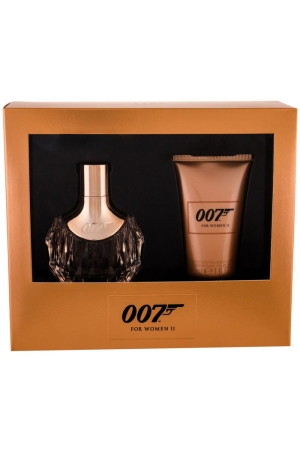 James Bond 007 James Bond 007 For Women II Eau de Parfum 30ml Combo: Edp 30 Ml + Body Lotion 50 Ml Damaged Box