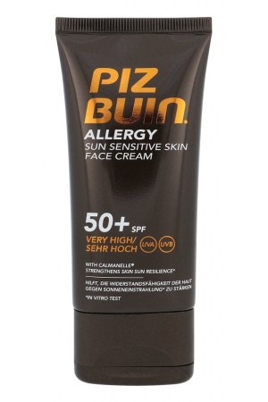 Piz Buin Allergy Sun Sensitive Skin Face Cream Face Sun Care 50ml Spf50+