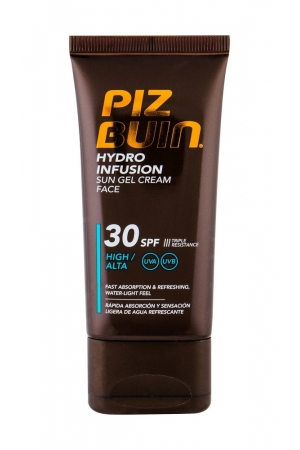 Piz Buin Hydro Infusion Face Sun Care 50ml Waterproof Spf30