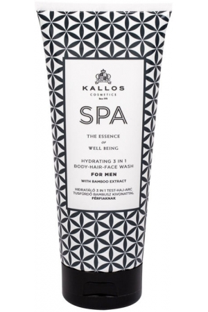 Kallos Cosmetics SPA For Men Hydrating 3 in 1 Shower Gel 200ml