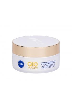 Nivea Q10 Power Anti-wrinkle + Extra Nourishing Day Cream 50ml Spf15 (Dry - Wrinkles)