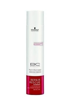 Schwarzkopf Bc Bonacure Repair Rescue Shampoo 500Ml Regenerating Shampoo