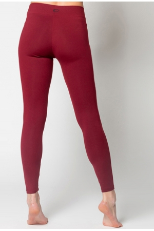 Nanobionic® Anti Cellulite Leggings Burgundy