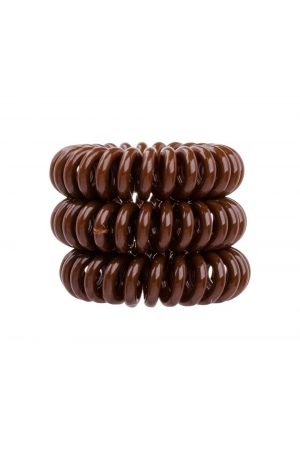 Invisibobble The Traceless Hair Ring Hair Ring 3pc Pretzel Brown