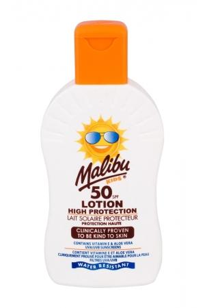 Malibu Kids Lotion Sun Body Lotion 200ml Waterproof Spf50