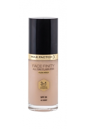 Max Factor Facefinity 3 In 1 Makeup 30ml Spf20 42 Ivory (Tekuta)
