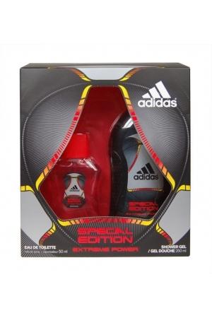 Adidas Extreme Power Eau De Toilette 50Ml & 250Ml Shower Gel