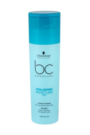 Schwarzkopf Bc Bonacure Hyaluronic Moisture Kick Conditioner 200ml (Normal Hair - Dry Hair)
