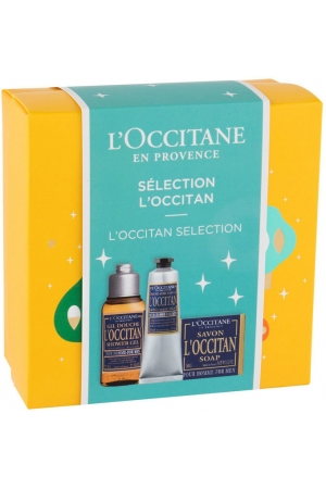 L´occitane For Men Shower Gel 75ml Combo: Shower Gel 75 Ml + Aftershave Balm 30 Ml + Soap 50 G