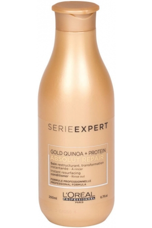 L´oréal Professionnel Série Expert Absolut Repair Gold Quinoa + Protein Conditioner 200ml (Damaged Hair)