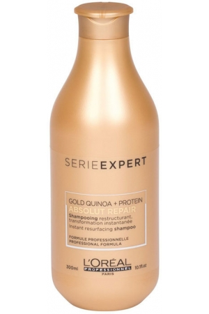 L´oréal Professionnel Série Expert Absolut Repair Gold Quinoa + Protein Shampoo 300ml (Damaged Hair)