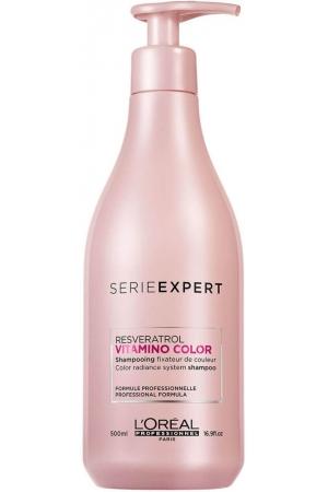 L´oréal Professionnel Série Expert Vitamino Color Resveratrol Shampoo 500ml (Colored Hair)
