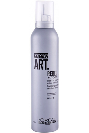 L´oréal Professionnel Tecni.Art Rebel Push-Up Hair Mousse 250ml (Strong Fixation)