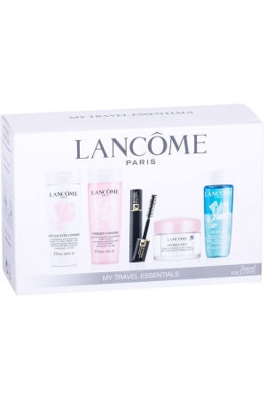 Lancôme Hydra Zen Day Cream 15ml Combo: Daily Facial Care 15 Ml + Cleansing Facial Milk Lait 50 Ml + Cleansing Lotion Confort 50 Ml + Mascara Hypnose 2 Ml + Eye MakeUp Remover Bi-Facil 30 Ml (For All Ages)