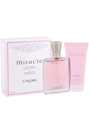 Lancôme Miracle Eau de Parfum 50ml Combo: Edp 50ml + 50ml Body Lotion