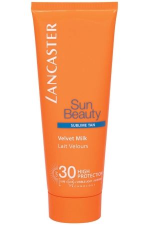 Lancaster Sun Beauty Velvet Milk SPF30 Sun Body Lotion 75ml