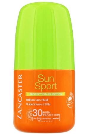 Lancaster Sun Sport Roll-On Sun Fluid SPF30 Face Sun Care 50ml (Waterproof)