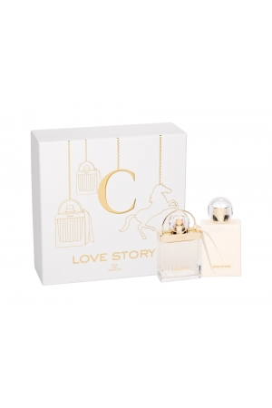 Chloe Love Story Eau De Parfum 50ml - Set Combo Edp 50ml + 100ml Body Milk
