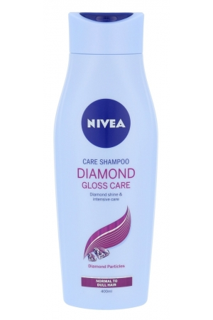 Nivea Diamond Gloss Care Shampoo 400ml (All Hair Types)