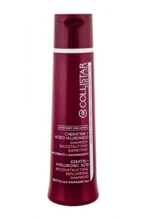 Collistar Pure Actives Reconstructing Replumping Shampoo 250ml (Weak Hair - Damaged Hair)