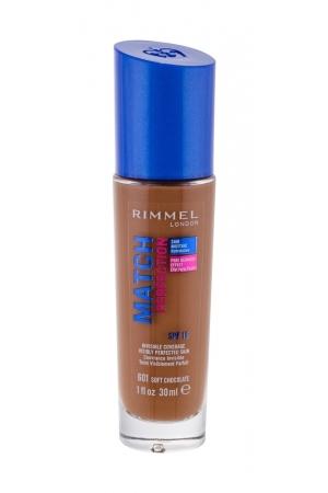 Rimmel London Match Perfection Makeup 30ml Spf15 601 Soft Chocolate (Stredni - Tekuta)