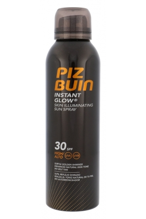Piz Buin Instant Glow Spray Sun Body Lotion 150ml Waterproof Spf30