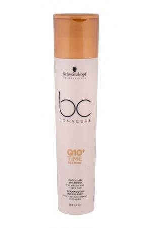 Schwarzkopf Bc Bonacure Q10+ Time Restore Shampoo 250ml (Weak Hair - Dry Hair)
