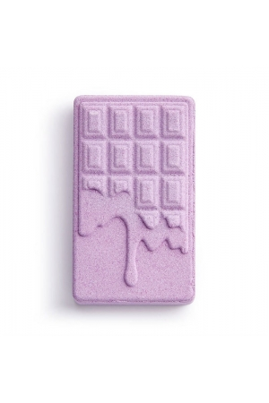 Makeup Revolution London I Heart Revolution Chocolate Bar Bath Fizzer Bath Foam Lavender 110gr