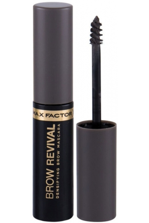 Max Factor Brow Revival Eyebrow Mascara 004 Grey 4,5ml (Waterproof)