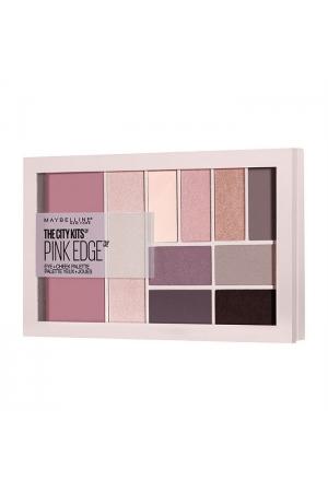 Maybelline The City Eye + Cheek Palette Makeup Palette Pink Edge 12gr