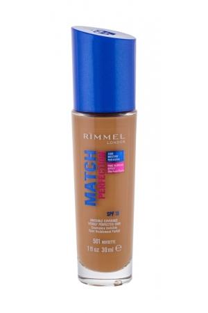 Rimmel London Match Perfection Makeup 30ml Spf15 501 Noisette (Stredni - Tekuta)