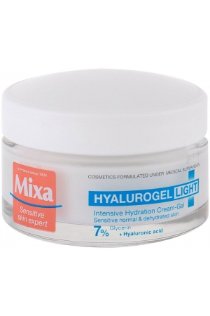 Mixa Hyalurogel Light Day Cream 50ml (For All Ages)
