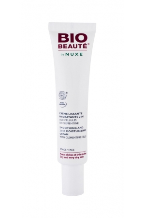 Nuxe Bio BeautE Smoothing And 24h Moisturizing Facial Gel 40ml (Dry - Very Dry - For All Ages)